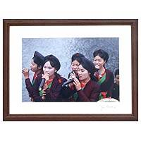 'Quan Ho Singers, Vietnam' - Fair Trade Color Photograph
