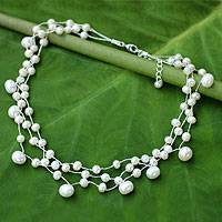 Featured review for Pearl choker, Moonlight Glow