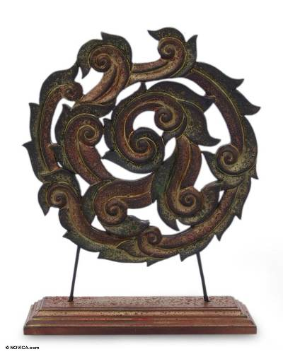 Thai Teak Sculpture