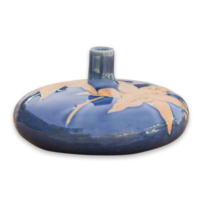 Celadon Ceramic Bud Vase