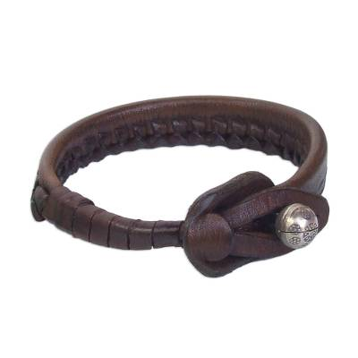 Unique Leather Wristband Bracelet