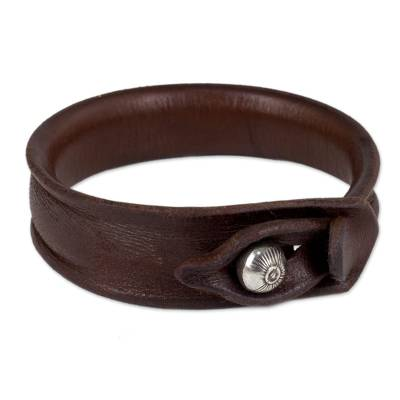 Leather Bracelet from Thailand