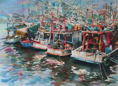'The Harbor III' (2008)