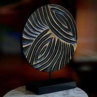 Wood sculpture,