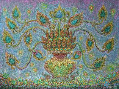 'Imagination from Lanna lV' (2007) - Impressionist Painting from Thailand