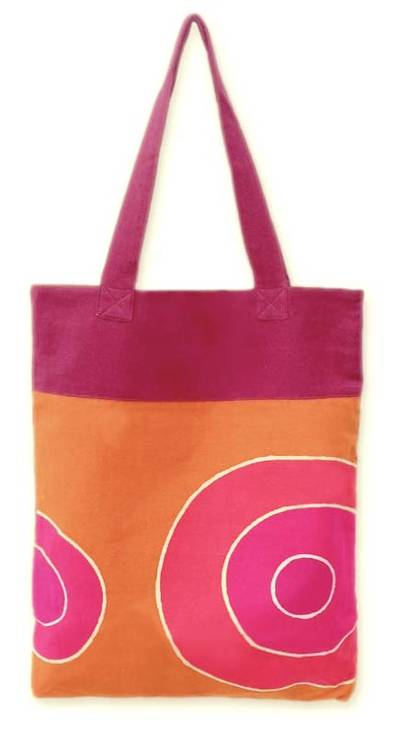 Hand Made Cotton Tote Bag