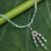 Fluorite choker, 'Season of Love' - Fluorite choker