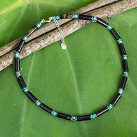 Featured review for Onyx choker, Sky Song