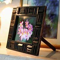 Teak photo frame,