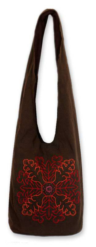 Cotton sling tote