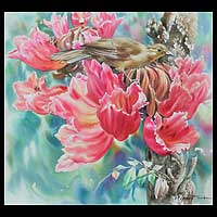 'Scents of Occasion' (2009) - Floral Watercolor Painting