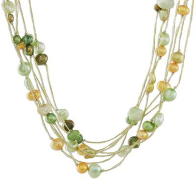 Artisan Crafted Pearl Necklace