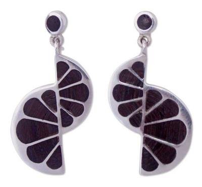 Mango Wood Dangle Earrings