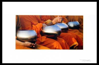 'Alms Bowls' - Cultural Photography Print