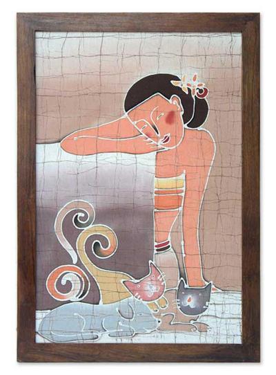 Batik Cotton Wall Hanging