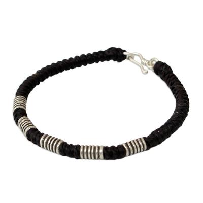 Handmade Fine Silver Braided Bracelet