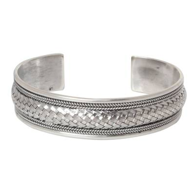 Artisan Crafted Sterling Silver Cuff Bracelet