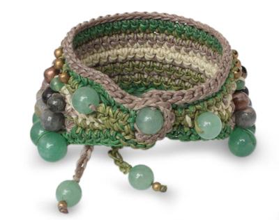 Thai Labradorite Beaded Bracelet