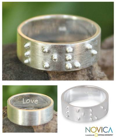 Hand Crafted Sterling Silver Band Ring