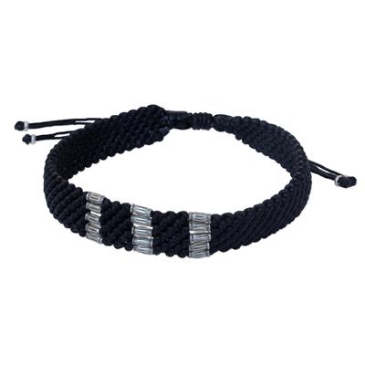 Fine Silver Braided Bracelet