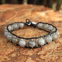 Labradorite beaded bracelet,