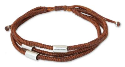 Thai Fine Silver Wristband Bracelet