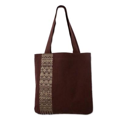 Handcrafted Cotton Embroidered Shoulder Bag