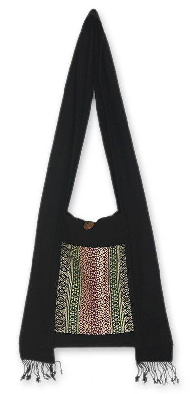 Cotton Shoulder Bag Handmade in Thailand
