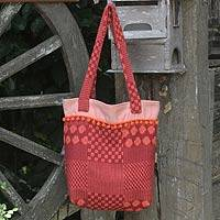 Cotton tote bag Orange Versatility Thailand