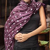 Batik scarf,