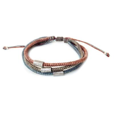 Hill Tribe Fine Silver Braided Bracelet
