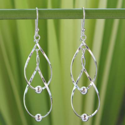 Sterling silver dangle earrings, Fabulous