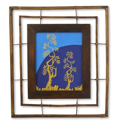 Original Framed Acrylic Painting