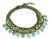 Amazonite and prehnite choker, 'Dawn Forest' - Hill Tribe Quartz and Prehnite Choker Necklace (image 2c) thumbail