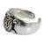 Sterling silver toe ring, 'Walk Slowly' - Hand Crafted Sterling Silver Turtle Toe Ring (image 2b) thumbail