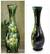 Lacquered wood decorative vase, 'Bamboo Forest' - Thai Lacquered Wood Decorative Vase Handpainted Bamboo thumbail