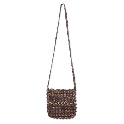 Coconut Shell Shoulder Bag Thailand