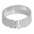 Sterling silver band ring, 'Love for Life' - Elephant Jewelry Sterling Silver Band Ring (image 2a) thumbail