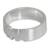 Sterling silver band ring, 'Love for Life' - Elephant Jewelry Sterling Silver Band Ring (image 2b) thumbail