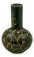 Celadon ceramic vase, 'Forest Blooms' - Hand Crafted Dark Green Glazed Celadon Vase thumbail