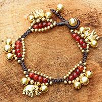 Featured review for Carnelian charm bracelet, Fortunes Melody