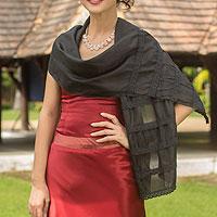 Rayon blend scarf,