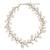 Cultured pearl and rose quartz beaded necklace, 'Sweet White Ivy' - Handcrafted Jewelry Pearl and Rose Quartz Necklace (image 2a) thumbail