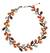 Carnelian and garnet beaded necklace, 'Sweet Ivy' - Artisan Crafted Multi-gemstone Necklace (image 2a) thumbail
