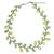 Aventurine and serpentine beaded necklace, 'Sweet Yellow Ivy' - Fair Trade Beaded Ornament Necklace (image 2a) thumbail
