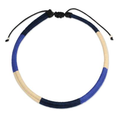 Artisan Crafted Cotton Necklace Collar