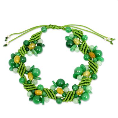 Jade Bracelet Artisan Crafted Jewelry