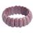Rhodonite stretch bracelet, 'Just Glow' - Rhodonite Stretch Bracelet Handcrafted Jewelry (image 2a) thumbail