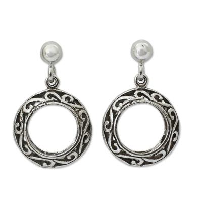 Fair Trade Jewelry Sterling Silver Filigree Earrings