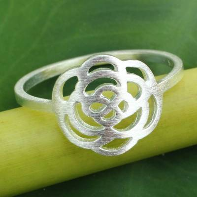 Fair Trade Sterling Silver Ring from Thailand